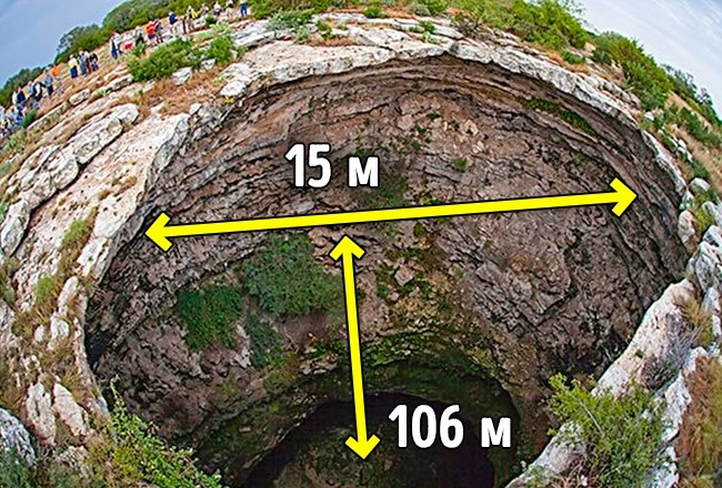 © Devils Sinkhole State Natural Area - Texas Parks and Wildlife / Facebook   Дьявольская воронк