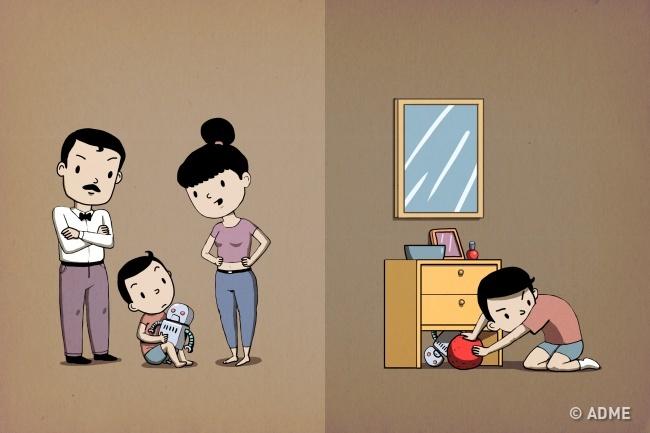 5привычек родителей, откоторых ребенок растет жадиной (5 фото)