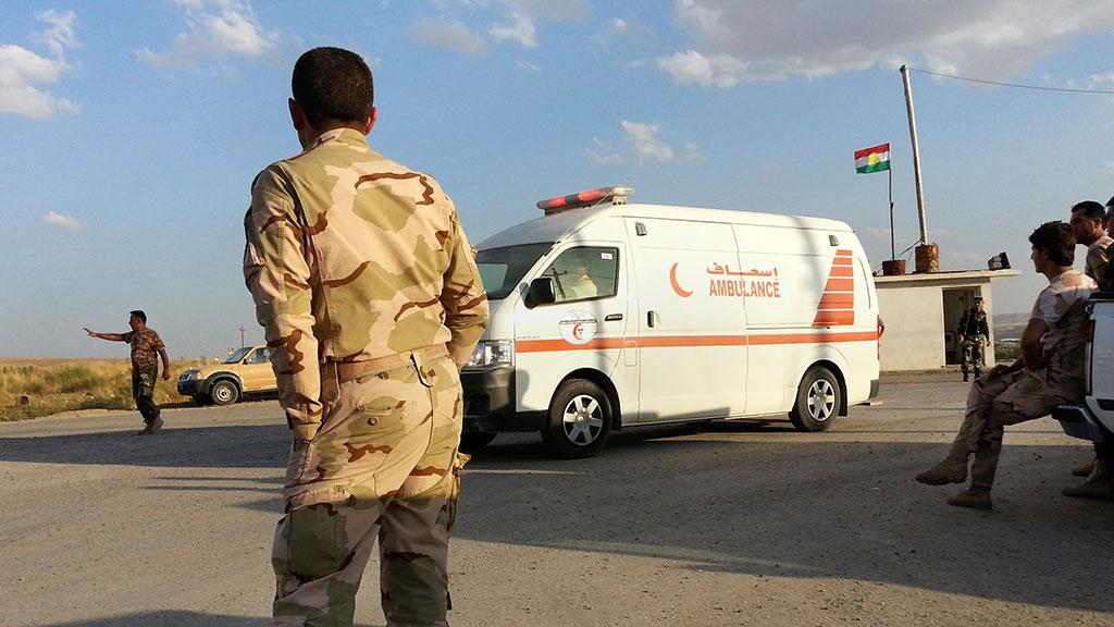 ВИраке смертник использовал для теракта машину «скорой помощи»