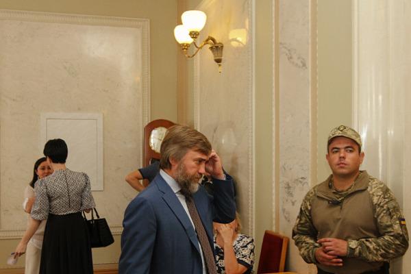 Подозреваемый вдавлении наУПЦ народный депутат Новинский вернулся в государство Украину