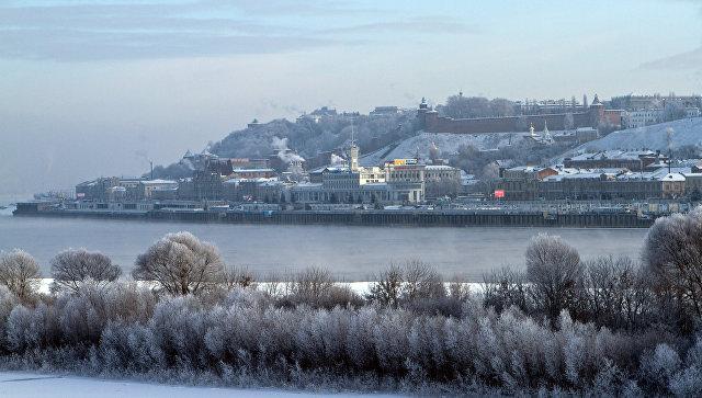 ВНижегородской области два рыбака провалились под лед