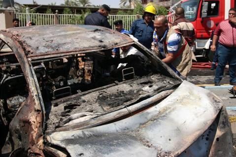 ВБагдаде из-за взрывов погибли 2 человека, пострадали 12 людей