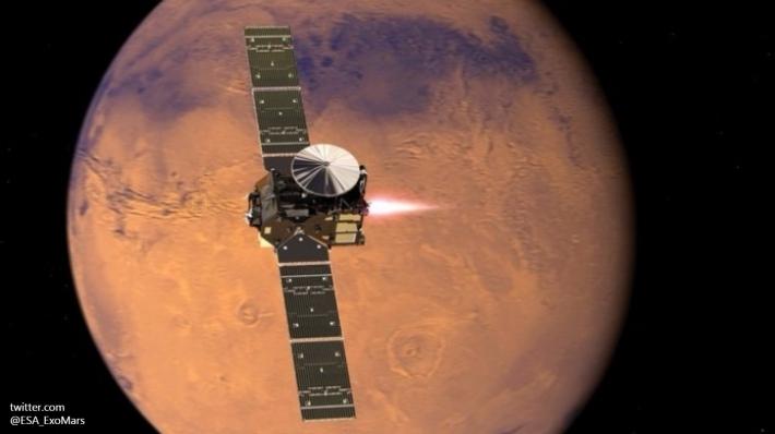 НаМарсе есть оазисы сжидкой водой— Ученые
