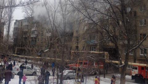 ВСаратове взрыв бытового газа разрушил несколько квартир