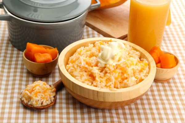 тыквенная каша с рисом рецепт с фото