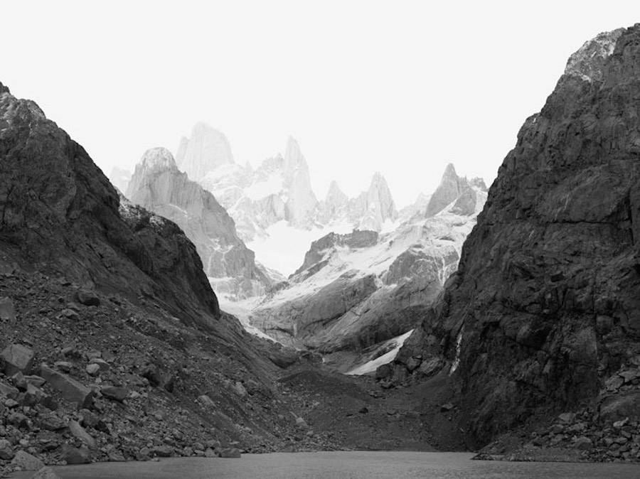 Artificial Black and White Landscapes