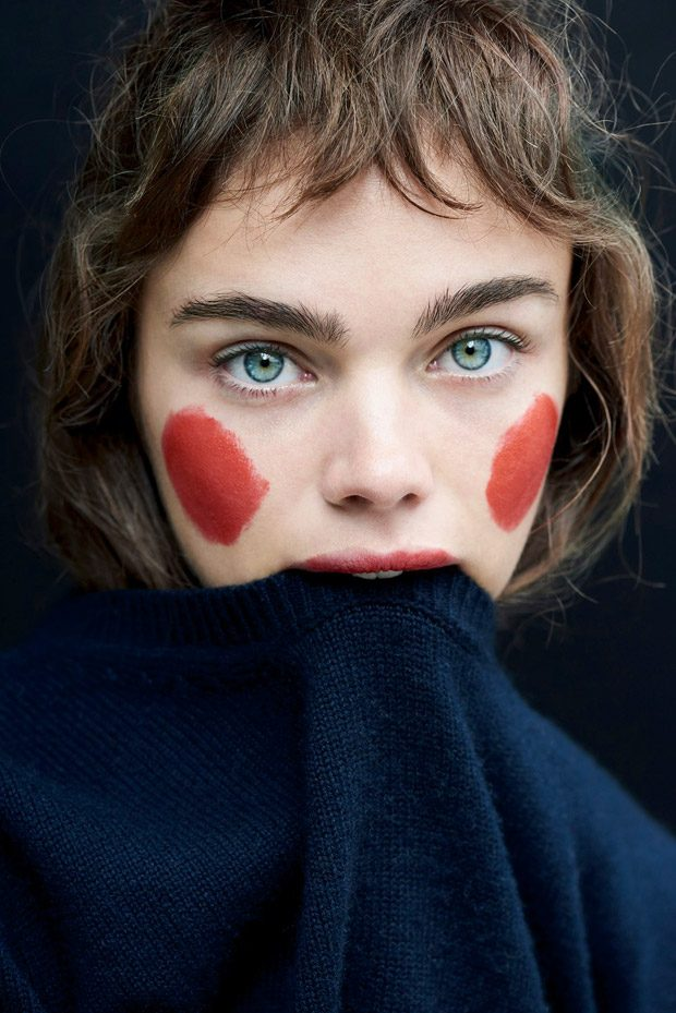 Funny Face: Jena Goldsack Stars in Mixte Magazine #17 Issue