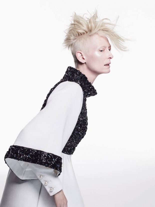 TILDA SWINTON Is Back On The Cover Of VOGUE KOREA