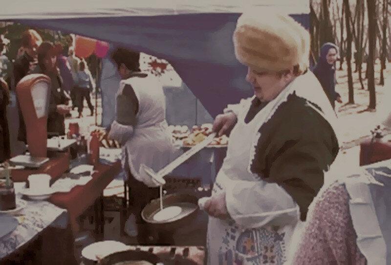 Масленица в парке Ленина, нач. 2000-х
