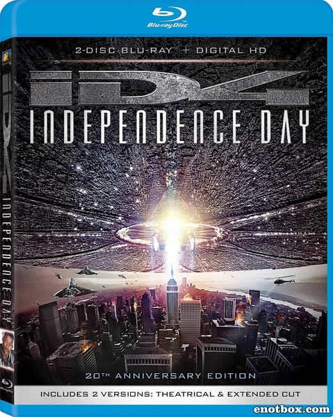 День независимости / Independence Day [Extended Cut/Remastered] (1996/BDRip/HDRip)