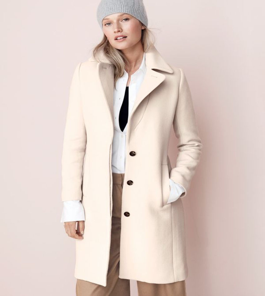 Toni Garrn - J. Crew (November 2016) fashion catalog