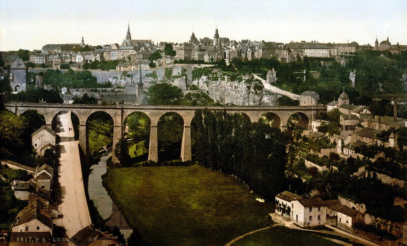 Люксембург, конец XIX века