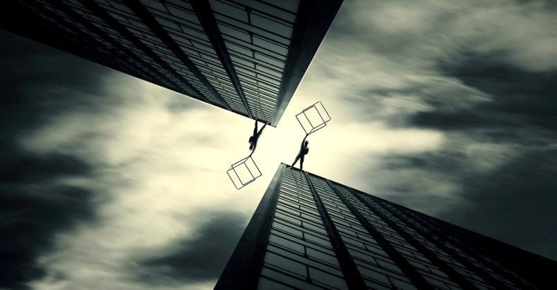 Broken Equability: New Photo Manipulations by Evgenij Soloviev