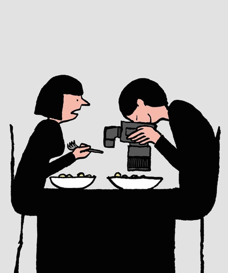 Modern Days - Les illustrations droles et satiriques de Jean Jullien