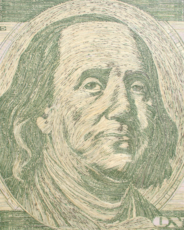 Made of Money: Currency Portraits by Evan Wondolowski