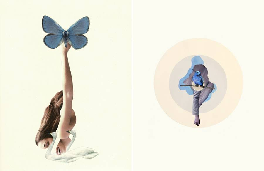 Poetic Minimalist Collages (10 pics)