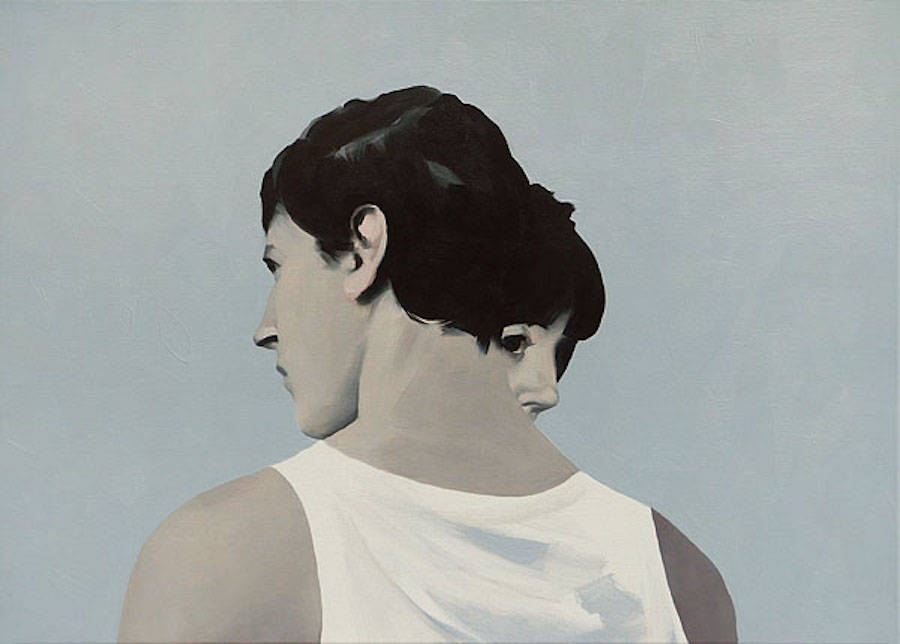 Lovers Painting Series by Puczel