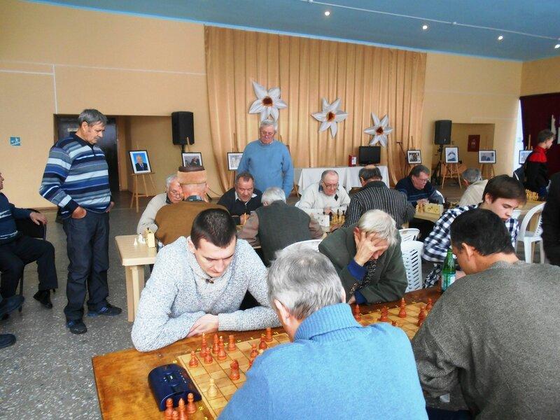 В зале игровом ... Шахматный турнир. Выселки. Декабрь 2016