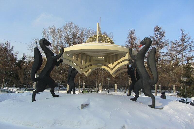 Новосибирск – город памятников