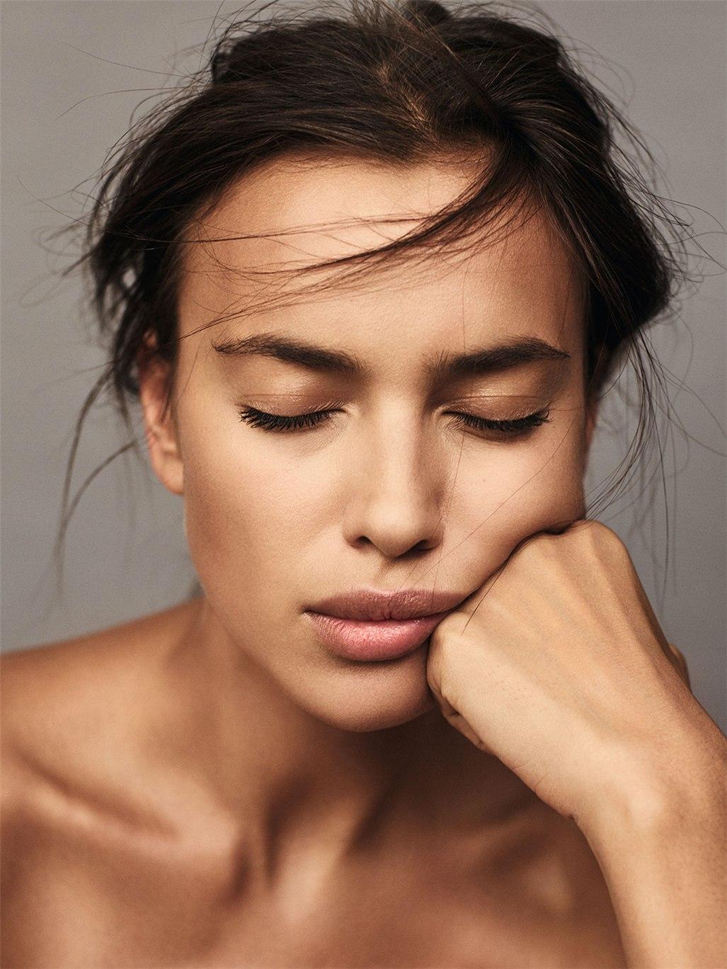 полуголая Ирина Шейк / Irina Shayk by Nico Bustos - Madame Figaro october 2016
