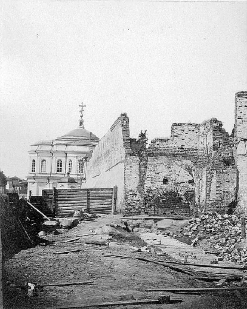 Вид на Смоленскую церковь