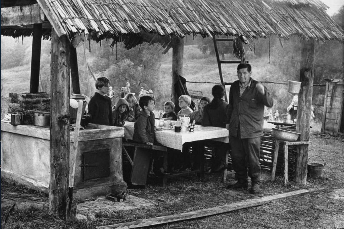 1973. Полевой стан. Московская область