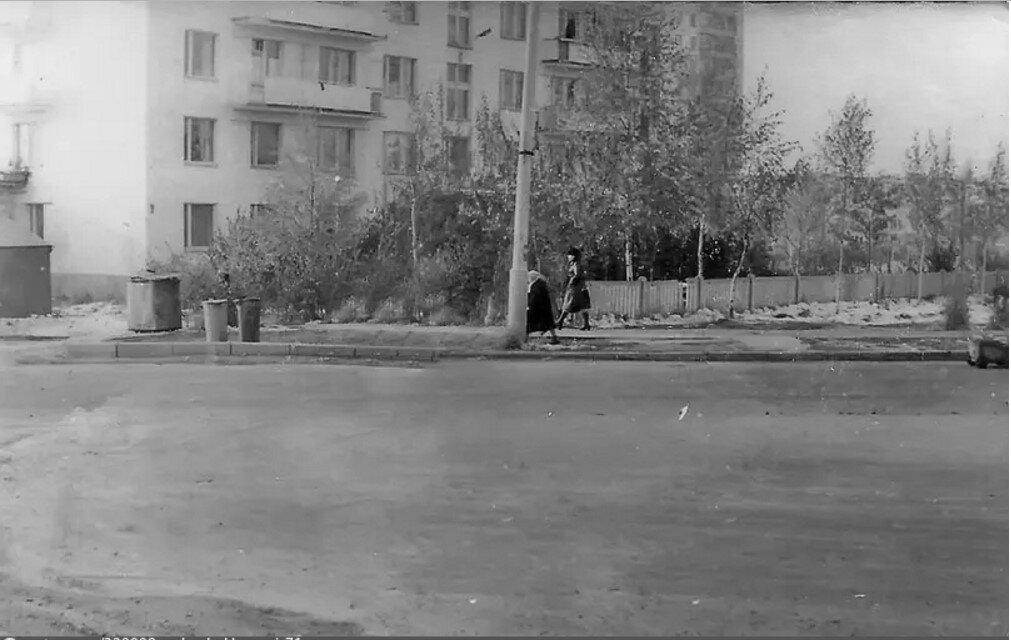 1980. Улица 50 лет Октября, дом 11