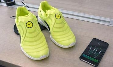 Фирма Пума выпустила самошнурующиеся кроссовки