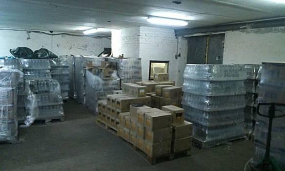Полиция изъяла около 600 тыс. бутылок фальсифицированной водки на 30 млн грн
