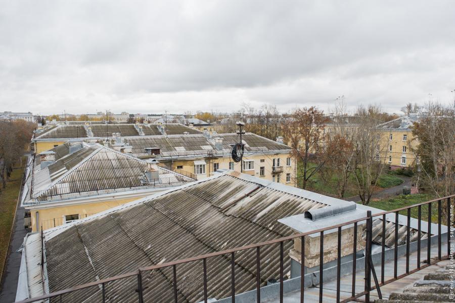 крыши старых домов Сарова