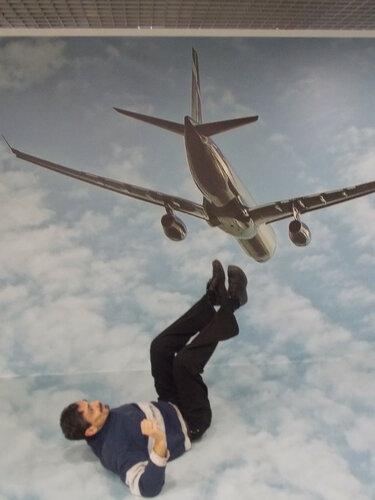 Воображариум: упал с самолета