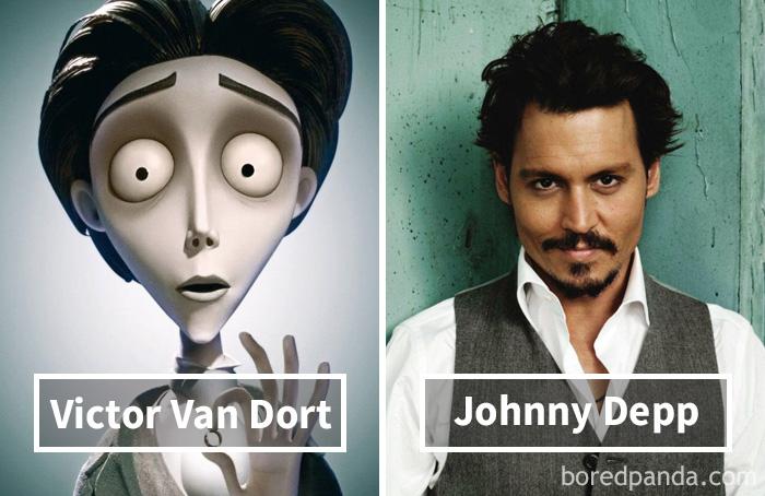 Виктор ван Дорт («Труп невесты») — Джонни Депп.
