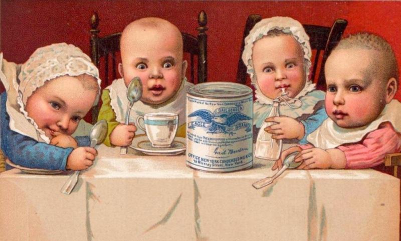 Когда сгущенное молоко появилось у нас? На территории Российской империи сгущенное молоко впервые ст