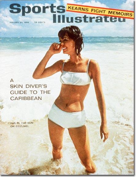 девушки в купальниках с 1964 по 2012
