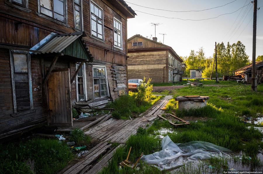 39. В конце апреля в Архангельске прошёл «семинар» по ветхому жилью, его участниками стали