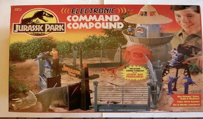 8. Парк Юрского Периода Если у вас сохранились игрушки, выпускавшиеся много лет назад под этим бренд