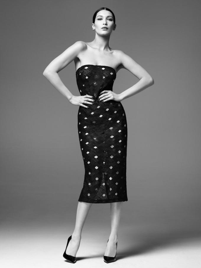 Белла Хадид для рекламной кампании Misha's Gold