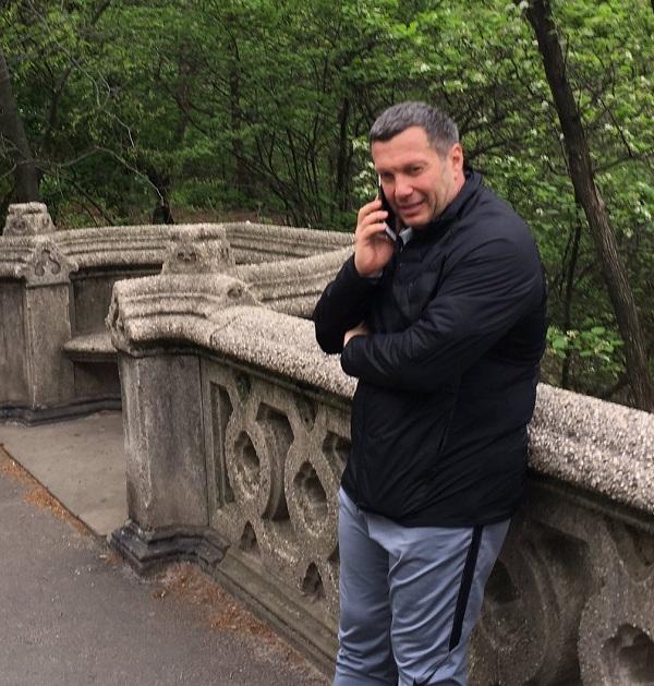 Владимир Соловьев раскрыл, чем онзанимается вНью-Йорке
