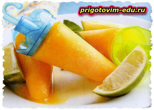 Тропический фруктовый лед