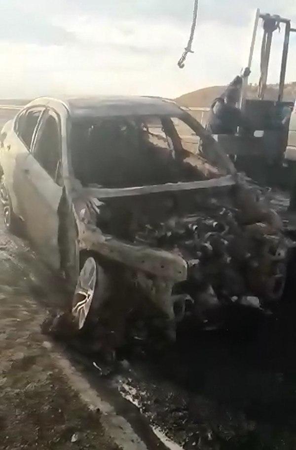 история о том, как сгорел новый BMW X6