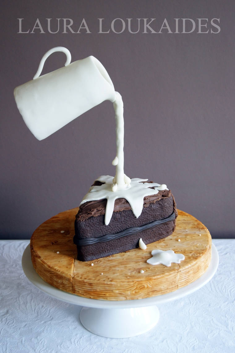 Junk Food Cakes - When impressive cake design pays tribute to junk food