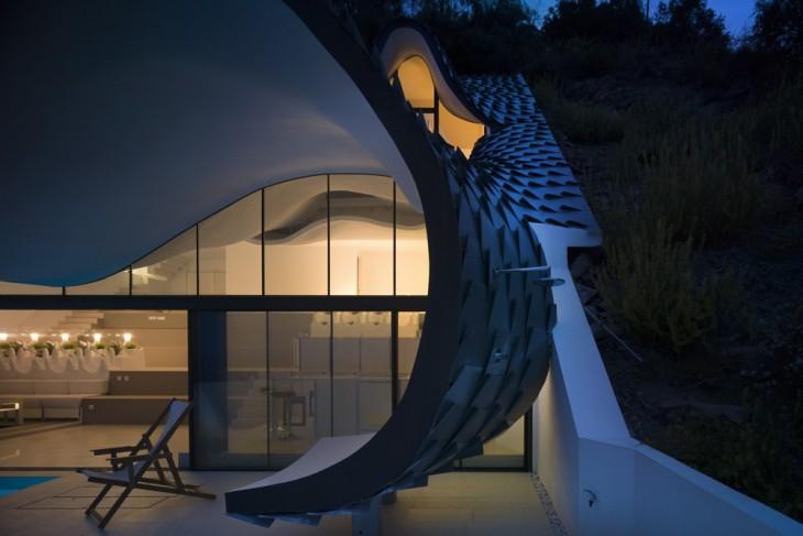 Casa Acantilado By Gilbartolome Arquitectos