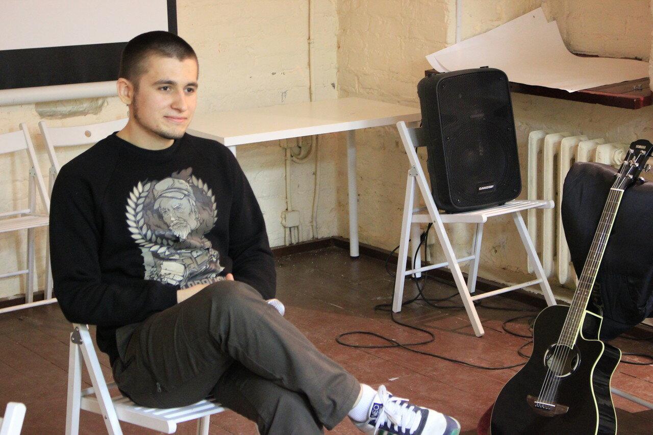 Экс-узник по Болотному делу - Алексей Полихович