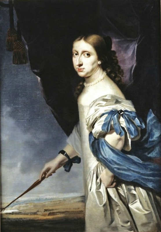 1661 Abrham Wuchters Christina, Queen of Sweden Alexandra Maria Vasa (1626-1689) as Diana (2).jpg