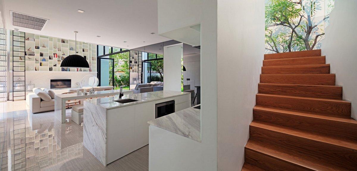 Современный дизайн дома в Бангкоке