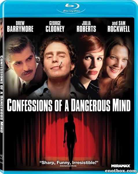 Признания опасного человека / Confessions of a Dangerous Mind (2002/BDRip/HDRip)