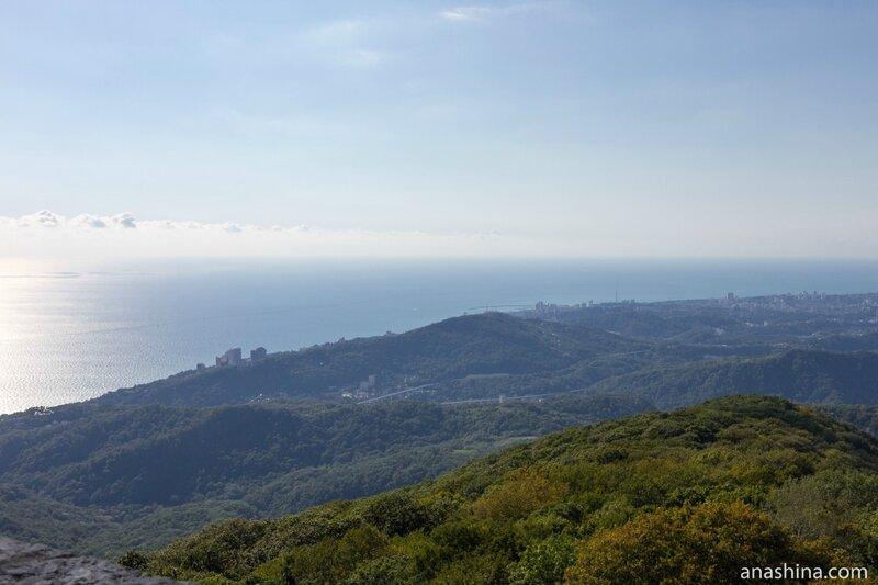 Панорама Черного моря