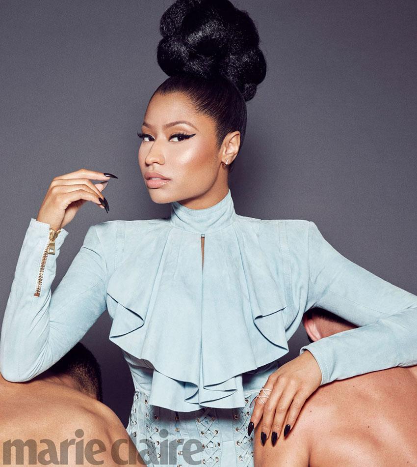 Nicki Minaj - Marie Claire US (November 2016)
