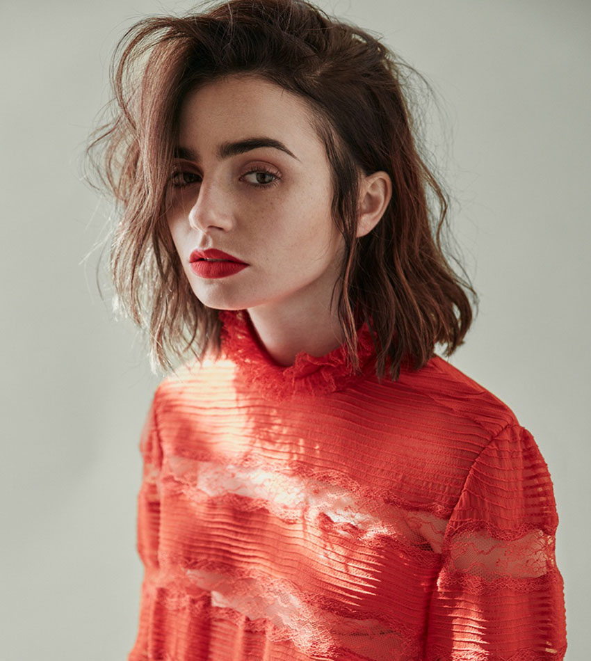 Lily Collins - DuJour Magazine (October 2016)