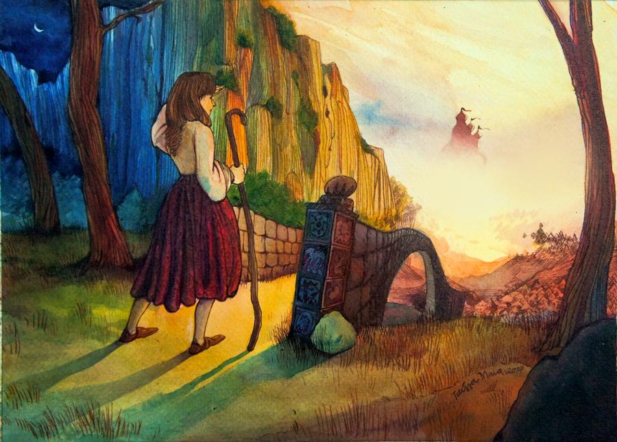 As ilustracoes apaixonantes de Taissa Maia